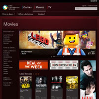 Sony Entertainment Network Movies image